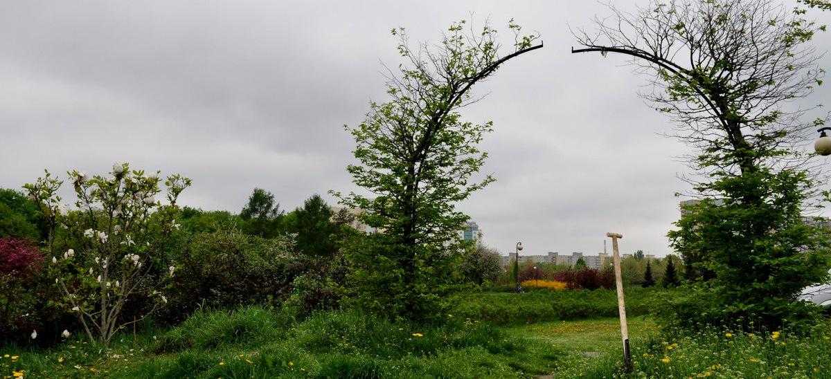 """""""Raj"""" w Parku Rzeźby na Bródnie, fot. Małgorzata Brus"""
